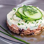 recette Saumon frais au saint marcellin et légumes d'été