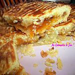 recette Mon Gâteau Sablé Fondant, Fourré à la Confiture d'Abricot