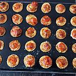 recette Minis tartelettes à la tomate cerise