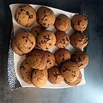 recette Cookies aux pépites de chocolats