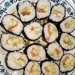 recette Makis : saumon avocat