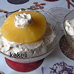 recette Fruits à la crème chantilly au mascarpone