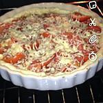 recette tarte pas cher tomate et thon
