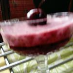 recette desserts  cerises  de kilométre  zéro,,mousse cerises,     fontainebleau  aux  cerises