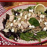 recette Salade de Poulet Quinoa et Menthe