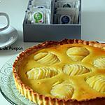 "recette La tarte bourdaloue façon ""la pâtelière"""