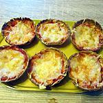 recette Mini pizzas aux restes de galettes a fagitas