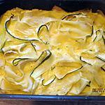 recette Flan de courgettes/pommes de terre de Oh la gourmande