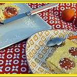recette Gâteau léger au fromage blanc et abricots