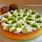 recette Gâteau magique aux kiwis