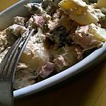 recette Salade du pêcheur maison