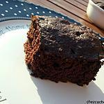 recette Gâteau chocolat à la courgette (cuisson au four à micro-ondes ou four)