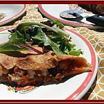 recette Calzone à l'Aubergine et Bacon