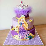 recette Gâteau d'anniversaire:Raiponce!