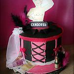 recette Gâteau pour fêter l'enterrement de vie de jeunne fille :Chipeldance!