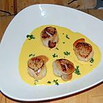 recette Nage de St Jacques au champagne du blog cccuisine.over-blog.com