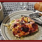 recette Clafoutis de Courgettes au Bacon et Chorizo