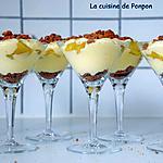 recette Verrine de mascarpone et ananas parfumé à la vanille