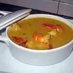recette soupe crevettes au lait de coco