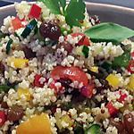 recette salade de quinoa sucré salé