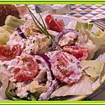 recette Salade de pomme de terre à la crème de brandade de morue