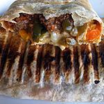 recette Tacos au poulet, monterey jack et bacon grillé