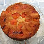 recette Gâteau renversé aux abricots