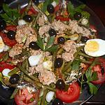 recette Salade d haricots vert à la niçoise