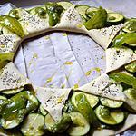 recette Tarte soleil vert