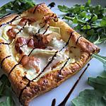 recette Feuilletés aux pommes et au gorgonzola
