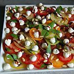 recette Assiette de tomates colorées du blog cccuisine.over-blog.com