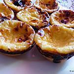 recette Pastéis de nata (Portugal)