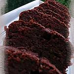 Cake au chocolat & à la courgette
