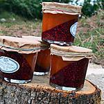 recette Confiture bicolore melon-vanille et framboise-menthe