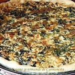 recette Pizza au saumon frais et épinards
