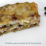 recette Lasagne aux poireaux, jambon et Gorgonzola