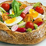 recette Pain saladier estival