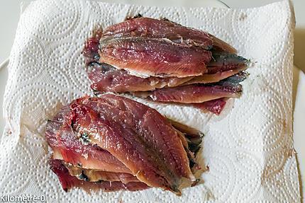 Photo de recette de sardines facile léger été de Kilomètre-0, blog de cuisine réalisée à partir de produits locaux et issus de circuits courts