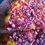 recette Tarte briochée aux pralines roses