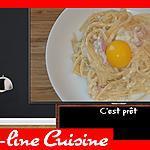 recette Pâtes Carbonara