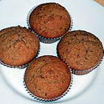 recette Muffins à la poire