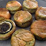 recette Muffin aux feuilles de betterave et saumon fumé