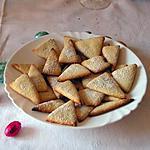 recette triangle au sucre glace