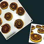 recette Roulé feuilleté au Chorizo