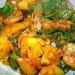 recette Crevettes sauce aigre-douce