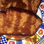 recette CAKE AU CARAMEL BEURRE SALÉ.