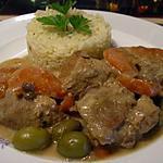 recette sauté de porc et riz pilaf