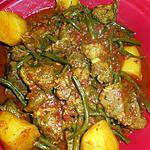 recette Tajine d agneau aux haricots verts et pommes de terre
