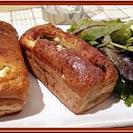 recette Cake au Caviar d'Aubergine, Feta et Sardines