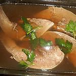 recette Langue de porc en gelée au madére